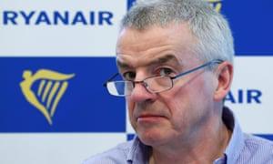 Ryanair's CEO Michael O'Leary
