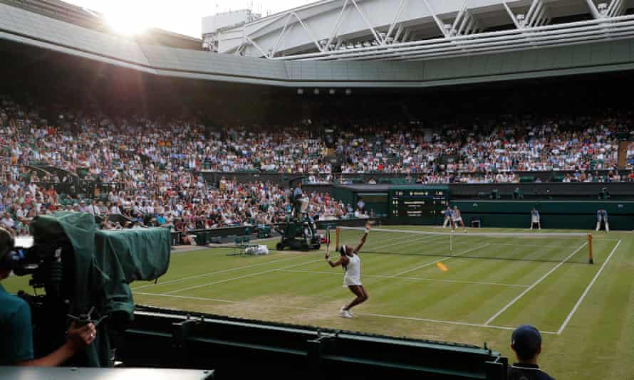 The broadcasting rights for the Wimbledon finals are among those on list of TV sport's so-called 'crown jewels'.