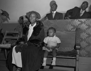 Deacon's corner in the Church of God in Christ, November 1942