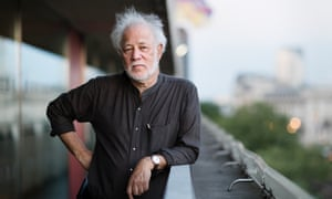 Michael Ondaatje, winner of the Golden Man Booker Prize with The English Patient.