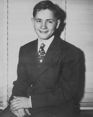 Charles Manson as a child at Boy's Town, an Indianapolis juvenile center where he spent time for burglary before he subsequently ran away