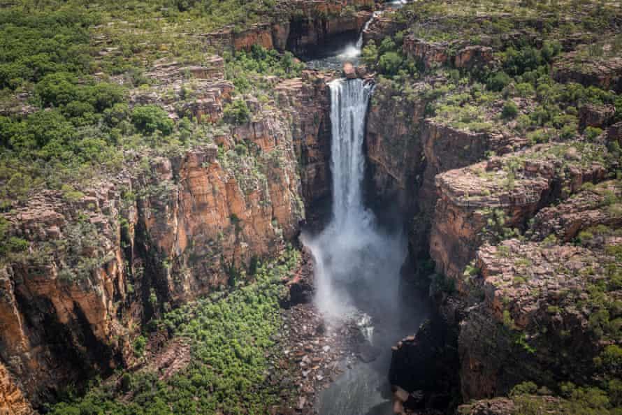 Jim Jim waterfall in Kakadu