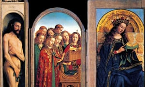 Detail from the Ghent Altarpiece.