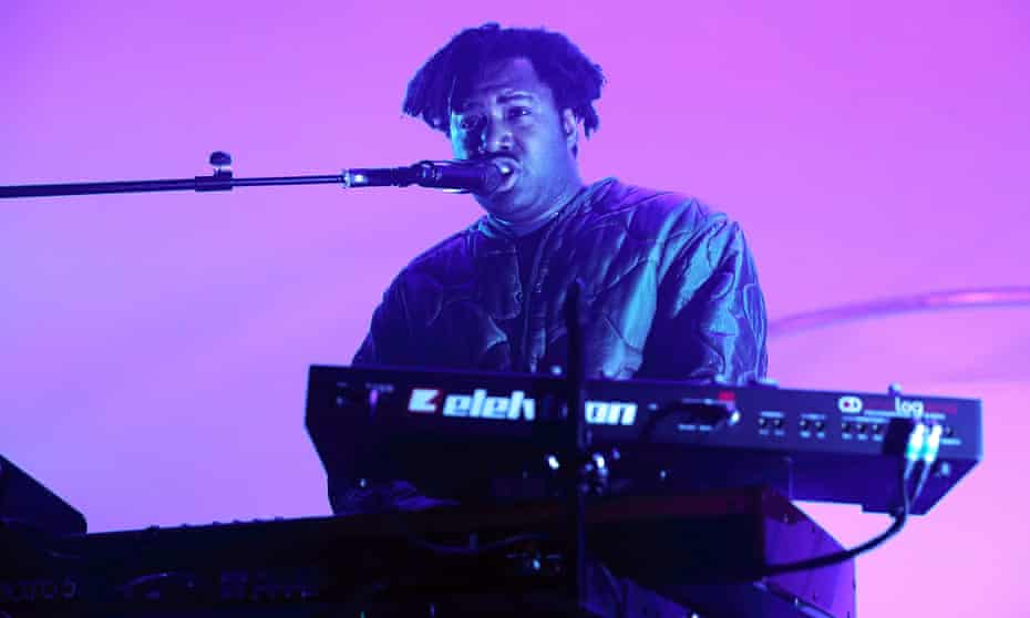 Sampha attempted to bring some chill to the Coachella crowd.
