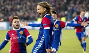 Michael Lang's last-gasp winner saw Basel shock Manchester United on their way to second place in Group A.