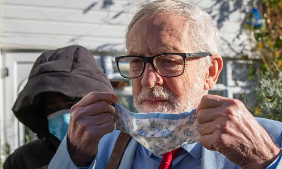 Corbyn's suspension has raised tensions in the Labour party.