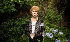 Edna O'Brien at her home in London.