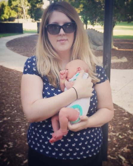 Catherine Hughes lost her baby Riley to whooping cough.