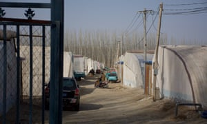 Images of a camp in Xinjiang, China
