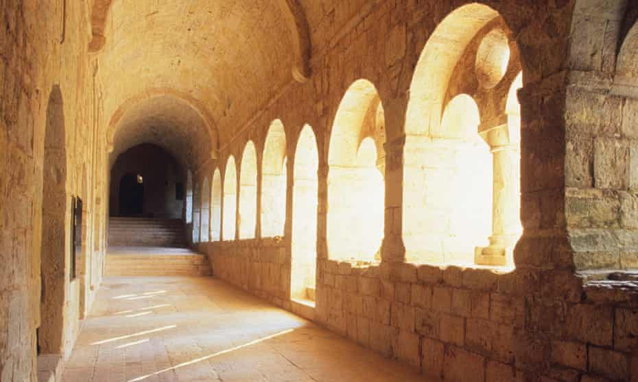 The 12th-century Thoronet Abbey, Provence, France.