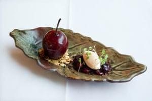 Brasserie of Light's Fallen Fruit dessert