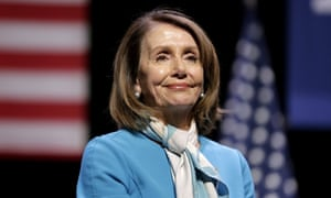 """Nancy Pelosi<br>FILE - In this Feb. 25, 2019 file photo, House Speaker Nancy Pelosi smiles while attending a bill signing ceremony in New York. Pelosi has been named the recipient of the 2019 John F. Kennedy Profile in Courage Award. Caroline Kennedy, the daughter of the late president, said in a statement Sunday, April 7 that the California Democrat is """"the most important woman in American political history."""" (AP Photo/Seth Wenig, File)"""