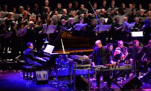 What is it to be British … the Matthew Herbert Big Band, October 2017.