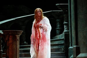 Jessica Pratt in Victorian Opera's production of Lucia di Lammermoor, directed by Cameron Menzies.