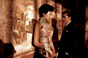 Maggie Cheung and Tony Leung in In the Mood for Love.