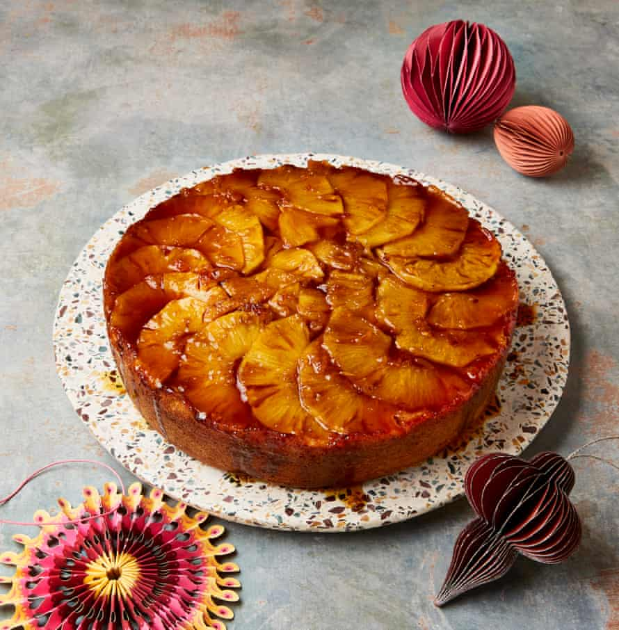 Yotam Ottolenghi's Pineapple Ring of Fire
