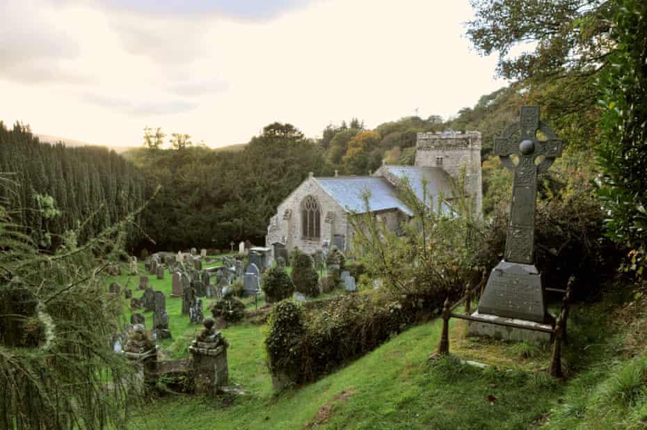 St Brynach's Church near Nevern.