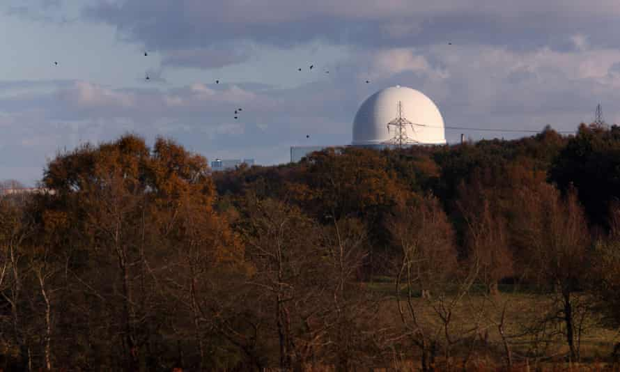 Sizewell B nuclear power station in Suffolk is said to be one of the plants of interest to China.