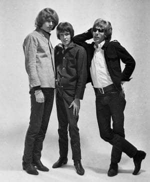 'It kept repeating itself' … the Walker Brothers in 1966, from left, John, Gary and Scott.