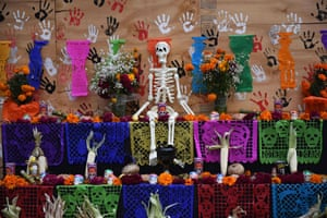 Mexico City, Mexico An altar in honour of the victims of Mexico's September 19 earthquake