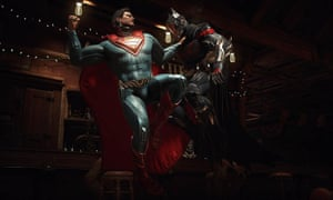 Super-sized fighting fun ... Injustice 2