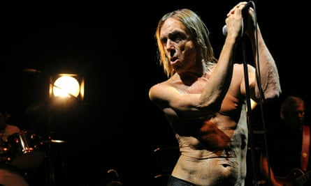 Iggy And The Stooges performing Raw Power in London, May 2010.