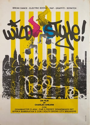 Wild Style, published by Grafica Viva/Artist Unknown, 1982. Available from Cool Walls, run by TV director Adam Kaleta and DJ Christian Stevenson, film and music fanatics who collect memorabilia