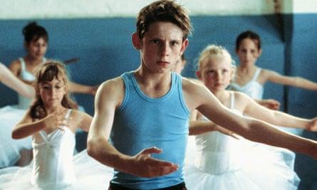 Jamie Bell in a ballet class in 2000's Billy Elliot
