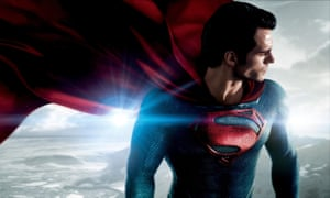 Superannuated superhero … Henry Cavill as Superman.