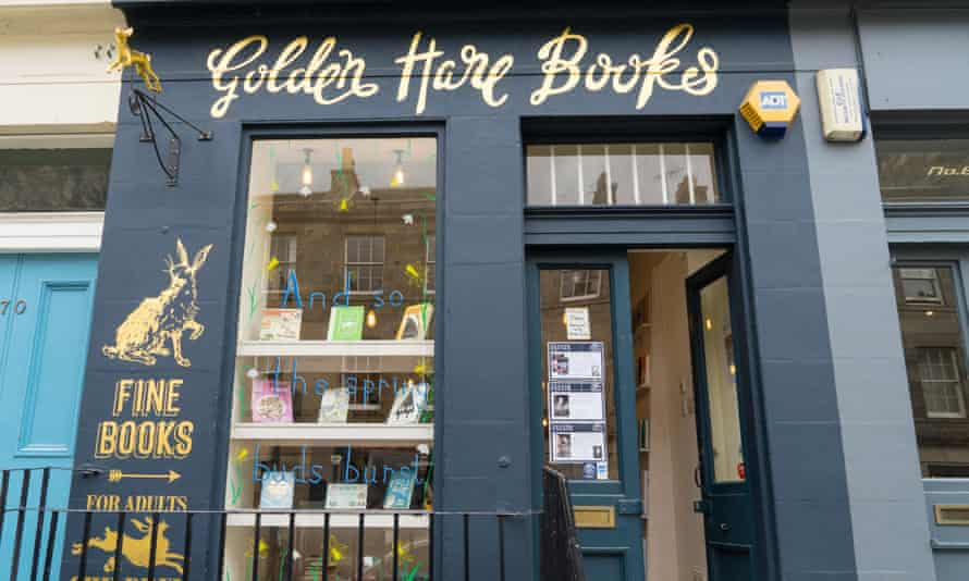 Golden Hare Books, an independent bookseller in Stockbridge, Edinburgh, says Waterstones opening breaks pledge by the chain's boss, James Daunt.