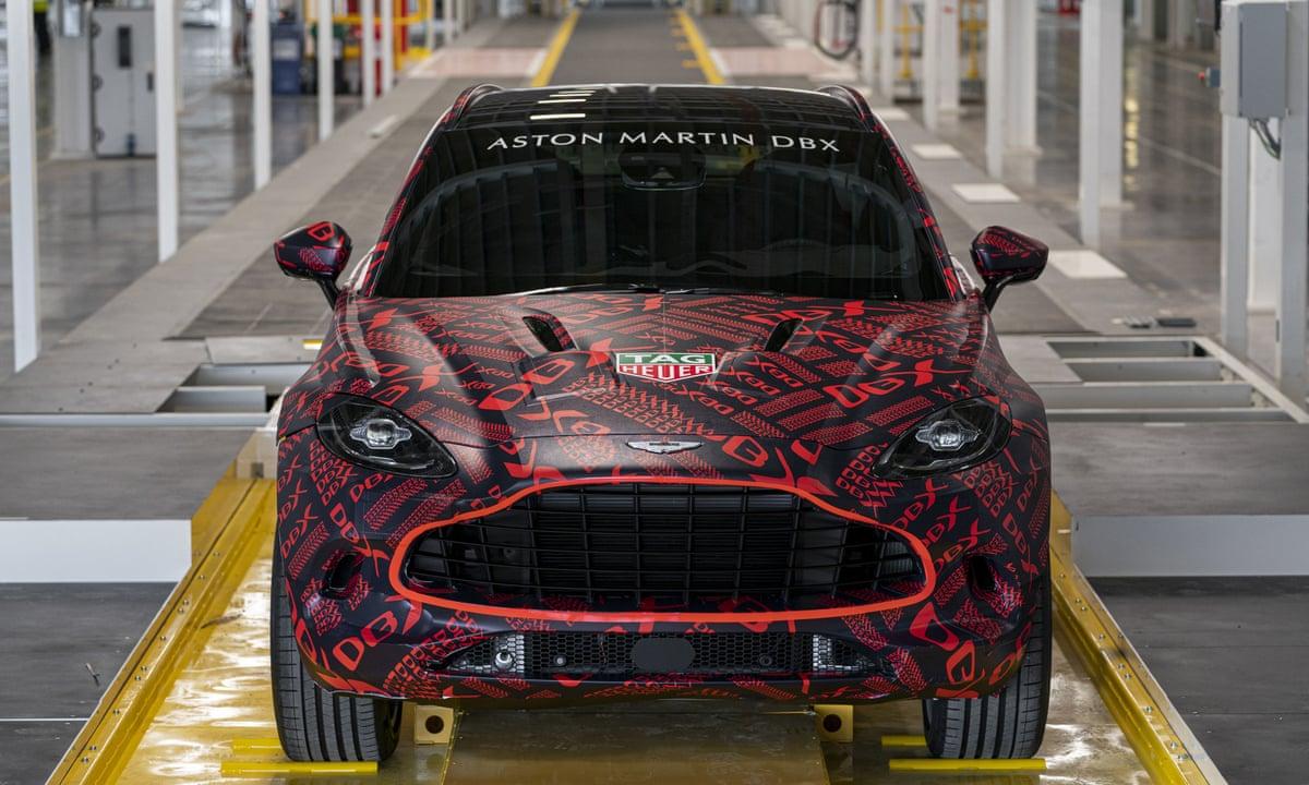 Aston Martin Axes 500 Jobs After Sales Slump Due To Coronavirus Business The Guardian