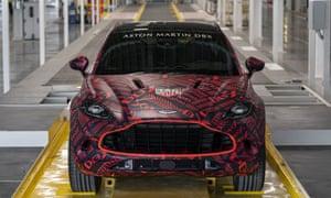 Aston Martin's new DBX