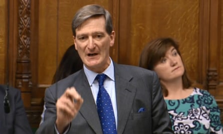 Dominic Grieve speaking during the debate on the EU withdrawal bill in the House of Commons.