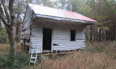 A slave's cabin at the National Museum of African American History and Culture.