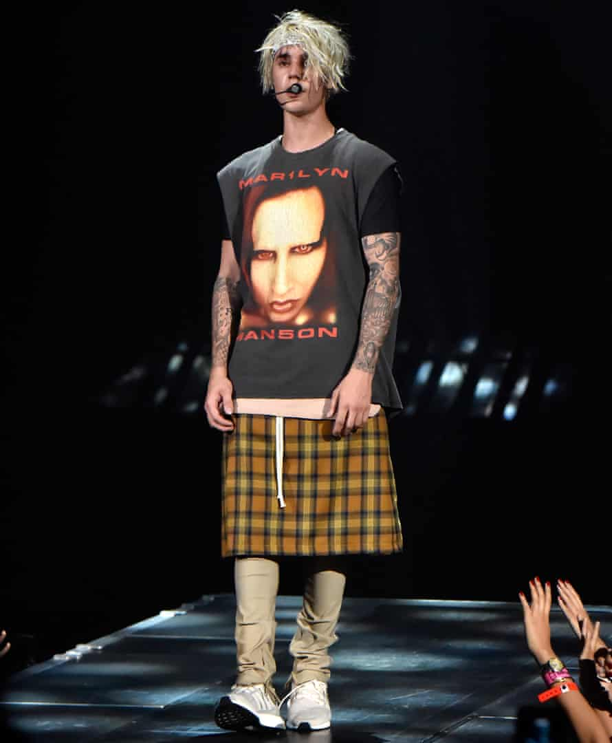 Welch's 'luxe grunge' look for Justin Bieber.