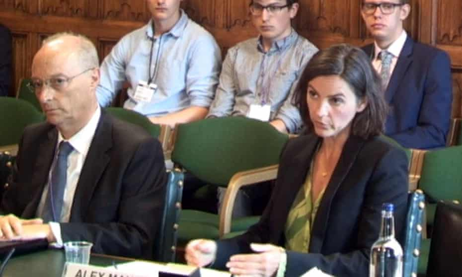 Channel 4's Charles Gurassa and Alex Mahon give evidence to MPs.