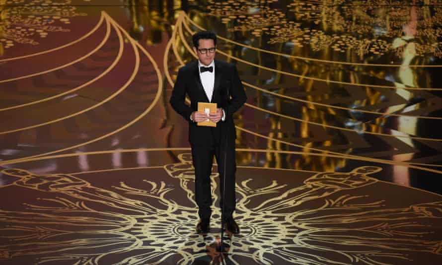 'The Oscars controversy was a wake-up call' ... JJ Abrams at the 2016 Academy Awards.