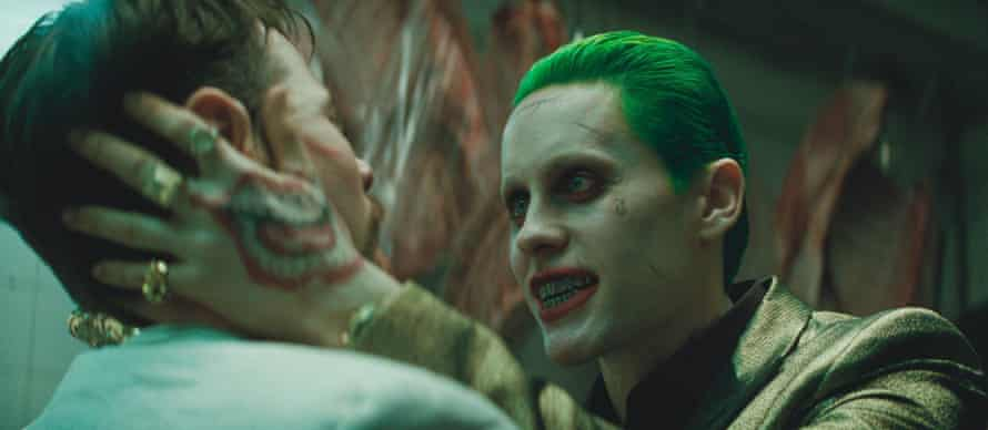 Superfluous ... Jared Leto in Suicide Squad.