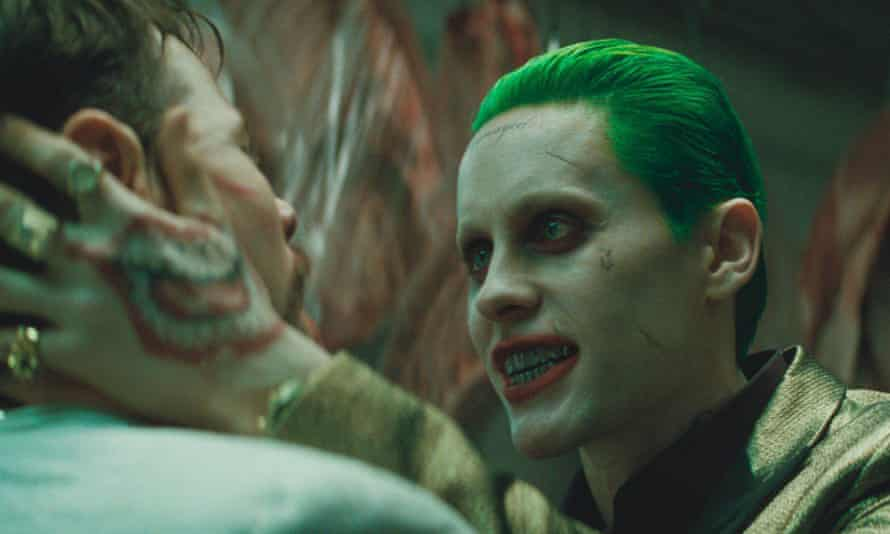 Jared Leto as the Joker in Suicide Squad.