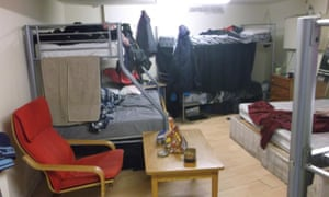 Overcrowded rented housing in Newham, east London