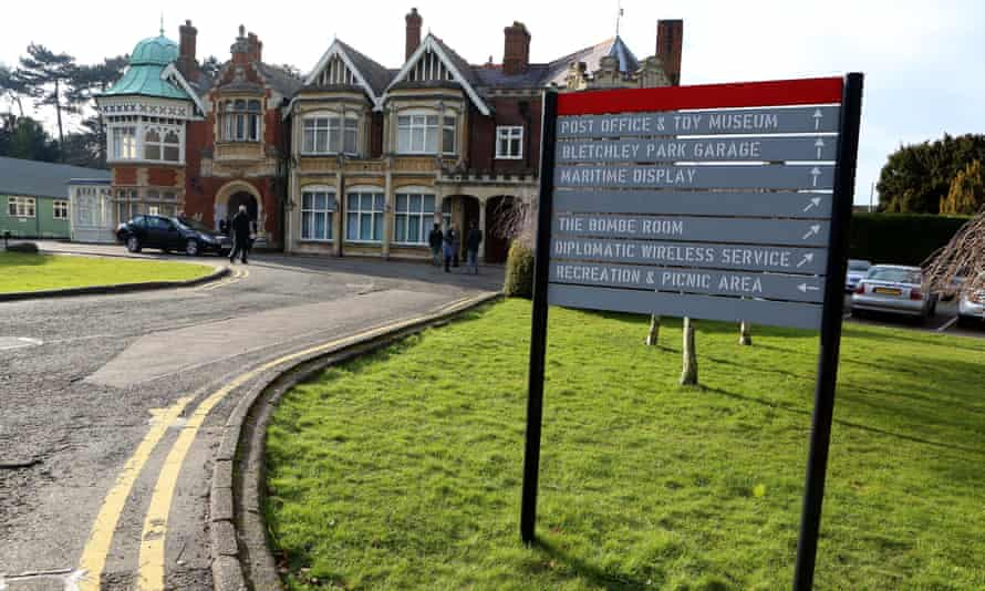 Bletchley Park in Milton Keynes, which is to be the site of the UK's first cybersecurity sixth-form college