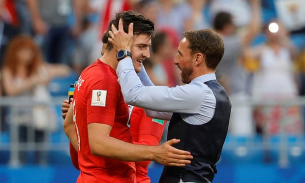 The ability of Harry Maguire, left, to deal with the aerial threat of Croatia's Mario Mandzukic could be key for Gareth Southgate.