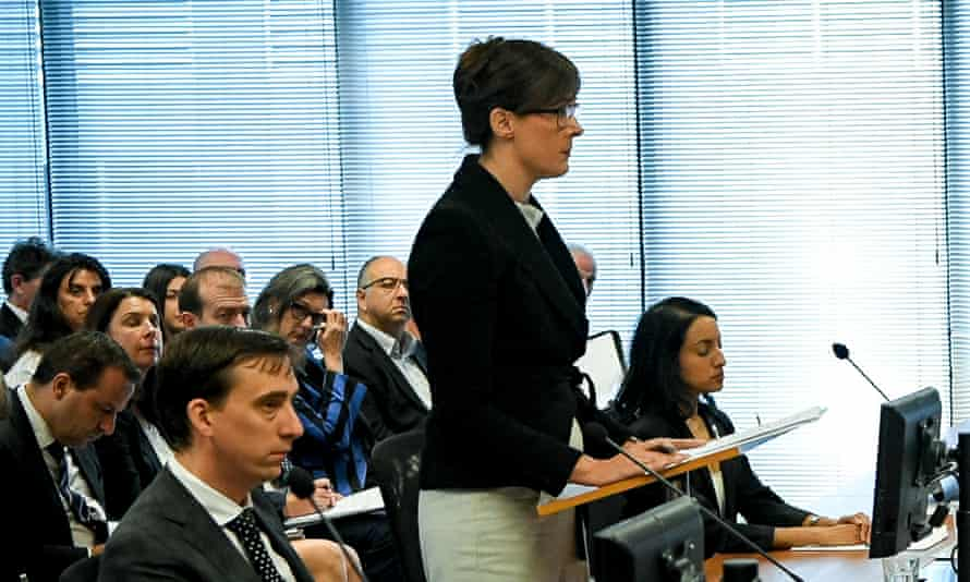 Senior counsel assisting the royal commission, Rowena Orr.