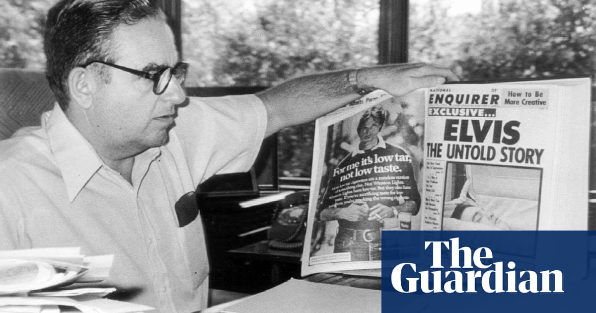 Scandalous: behind the sordid inner workings of the National Enquirer