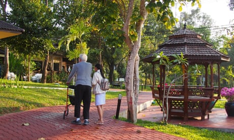 Families sending relatives with dementia to Thailand for care