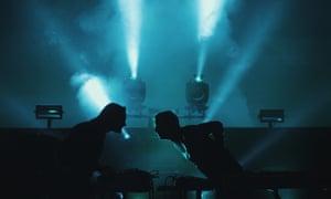 Vast layers of sound … Kiasmos perform at Erased Tapes Is Ten.