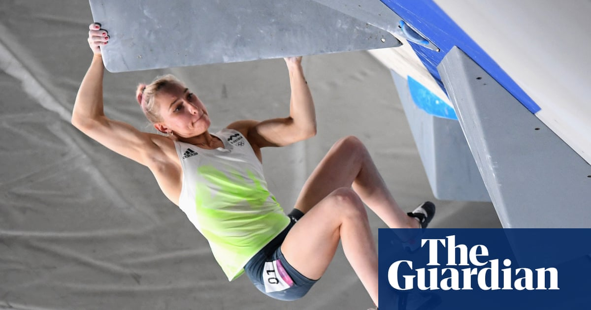 Tears, tension and skill as women's sport climbing takes Olympic bow