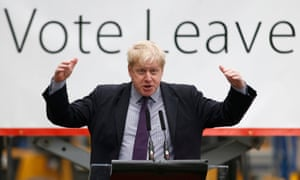 Boris Johnson: 'coming from Uncle Sam it is a piece of outrageous and exorbitant hypocrisy.'