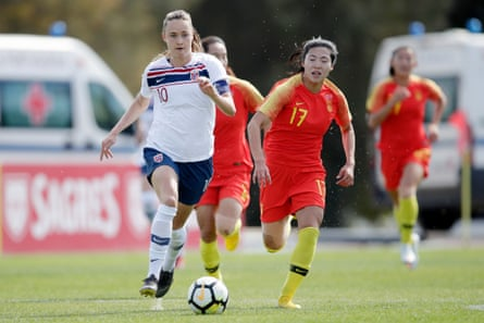 Caroline Graham Hansen has joined Barcelona this summer
