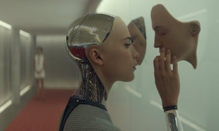 Face off: Ava in the film Ex Machina.